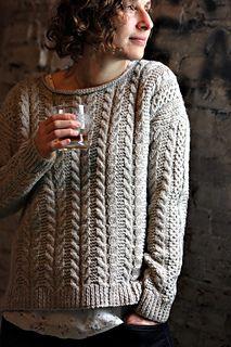 O padrão Oban Sweater por Thea Colman