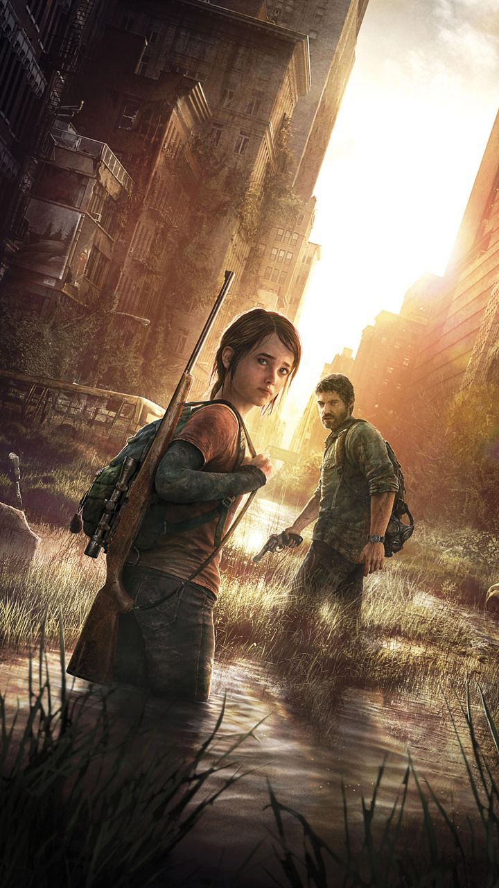 Ellie And Joel  The Last Of Us Mobile Wallpaper 14041