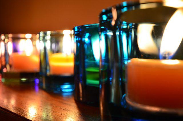 tea lights #1 | Flickr