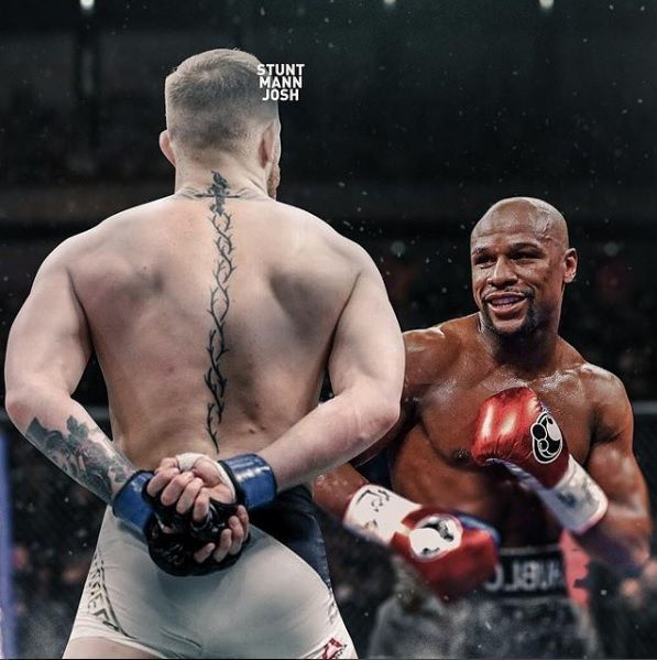 2x UFC Division Champion Conor McGregor vs Boxing Champion and Legend Floyd Mayweather. Who wins? Credit : Stuntmannjosh www.imzy.com/everything_mma