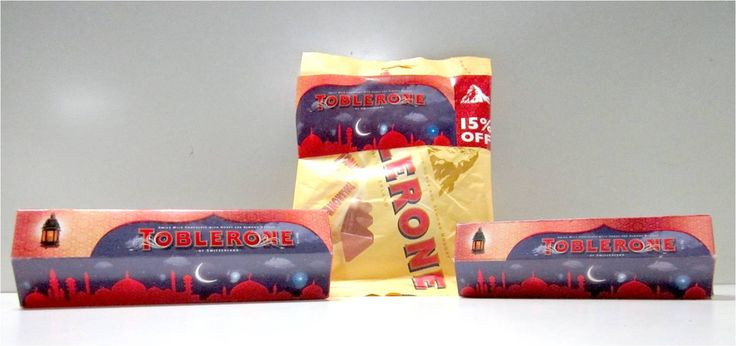 Encyclomedia Re-designs The Festive Packs Of Toblerone In Middle East Market!  Originality being the DNA of Toblerone,  The brief was to redesign the current packaging in an unconventional and original fashion for the festive season of Ramadan.These special edition SKU's (Pillow Packs, 100gm & 50gm) were sold only during the festive season – across Supermarkets, Hypermarkets & Duty Free Airports across Middle East Markets.