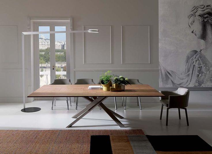 Tavolo Allungabile 4x4  Design Giulio Manzoni