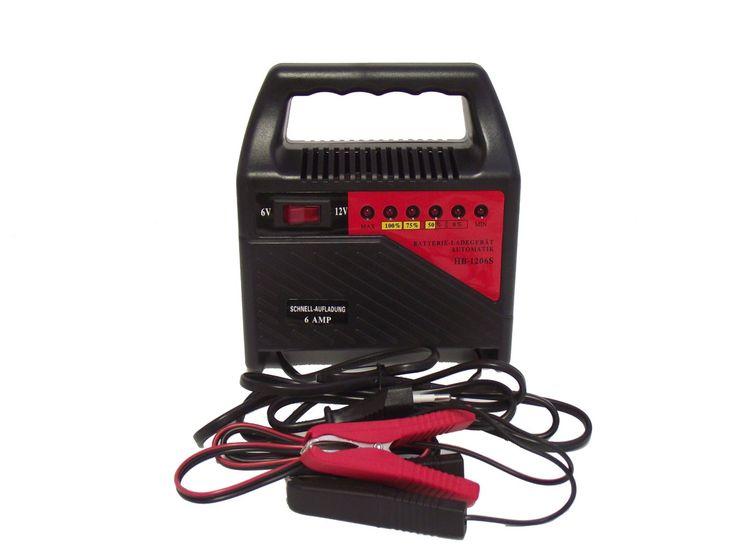 Cargador externo para baterías de coche. Se puede cargar una batería tipo 88Ah en 44 horas, las luces te va informando el porcentaje de carga que va teniendo la batería en el momento. Es un indicador de carga regresiva las luces se apagarán cuando esté completamente cargada la batería. Precio: EUR 27,79
