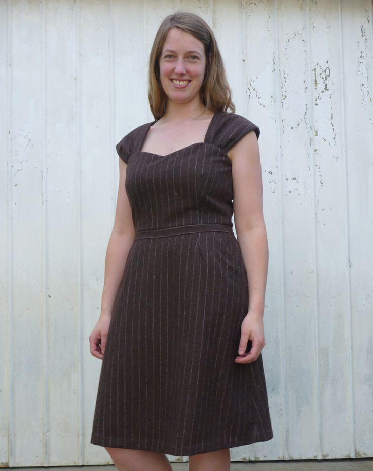 The winter wool cambie by Sewaholic patterns