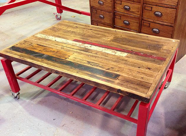 Recycled Timber Coffee Table Neel Day Furniture Melbourne Upcycled Furniture Victoria
