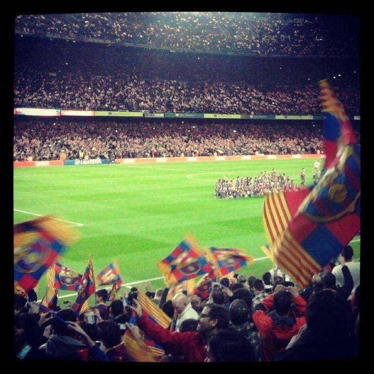 The new estadi del football club barcelona, Now we know it simply as EL CAMP NOU! <3