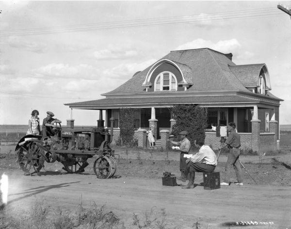 International Harvester Demonstration Farm at Gull Lake, Saskatchewan, Canada from Wisconsin Historical Images, via Flickr