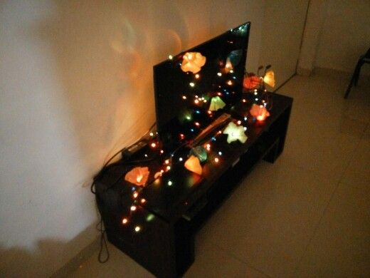 Diy string lights made with cupcqke liners home Pinterest DIY and crafts, Lights and ...
