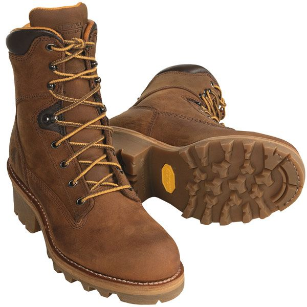 Chippewa Apache Logger Boots - Steel-Toed (For Men) - Save 37%