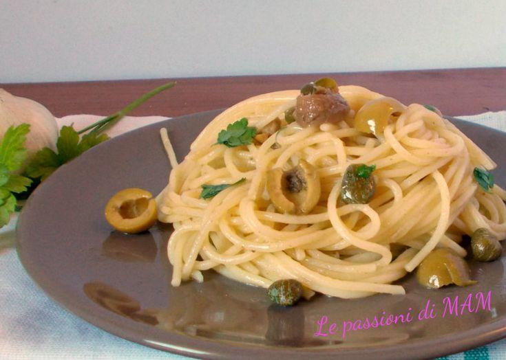 spaghetti alle acciughe