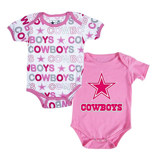 579ec3cdd NFL Dallas Cowboys Cutie Patootie 2-Pack Set in blue or pink at shop ...