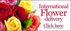 International Flower Delivery - Send Flowers Abroad | daFlores.com