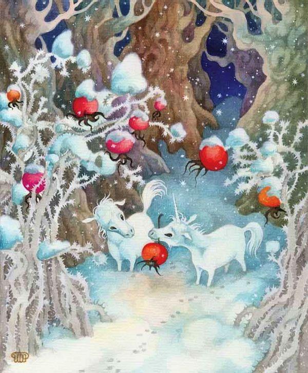 Открытки о зимней сказке