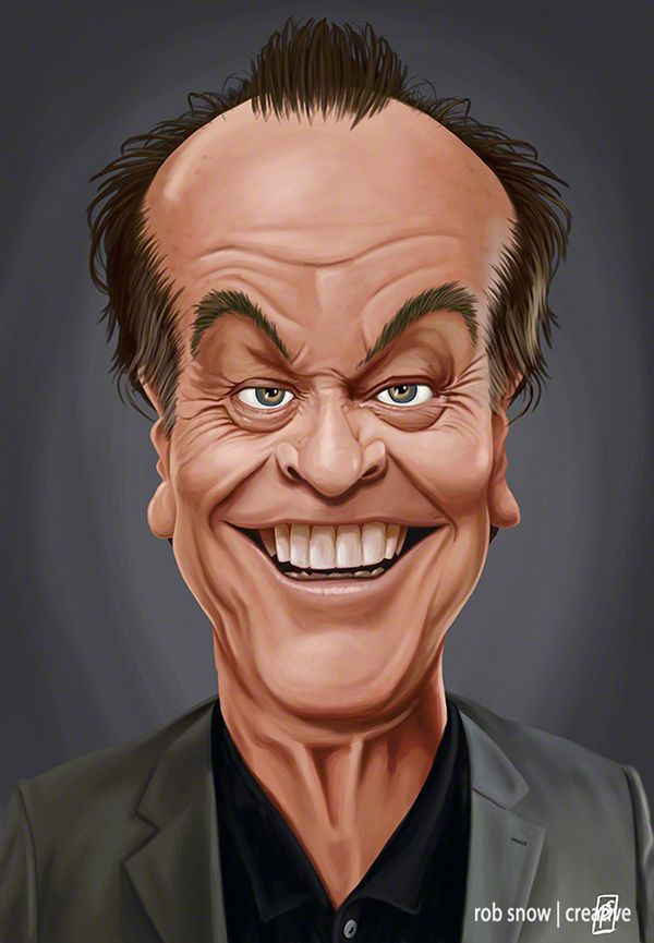 Celebrity Caricatures by Rob Snow                                                                                                                                                                                 More