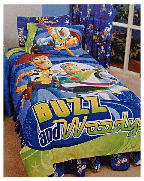 Buzz And Woody Bedding Set Toy Story Bedding With Buzz