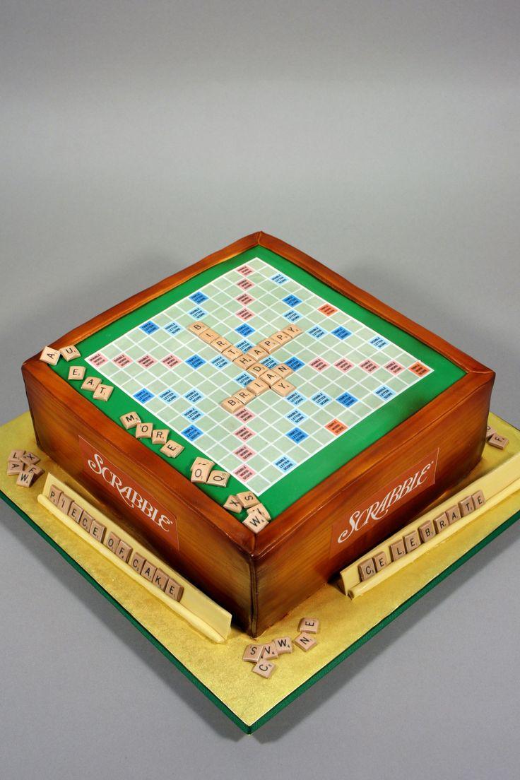 Scrabble Birthday Cake | marksl110 | Flickr