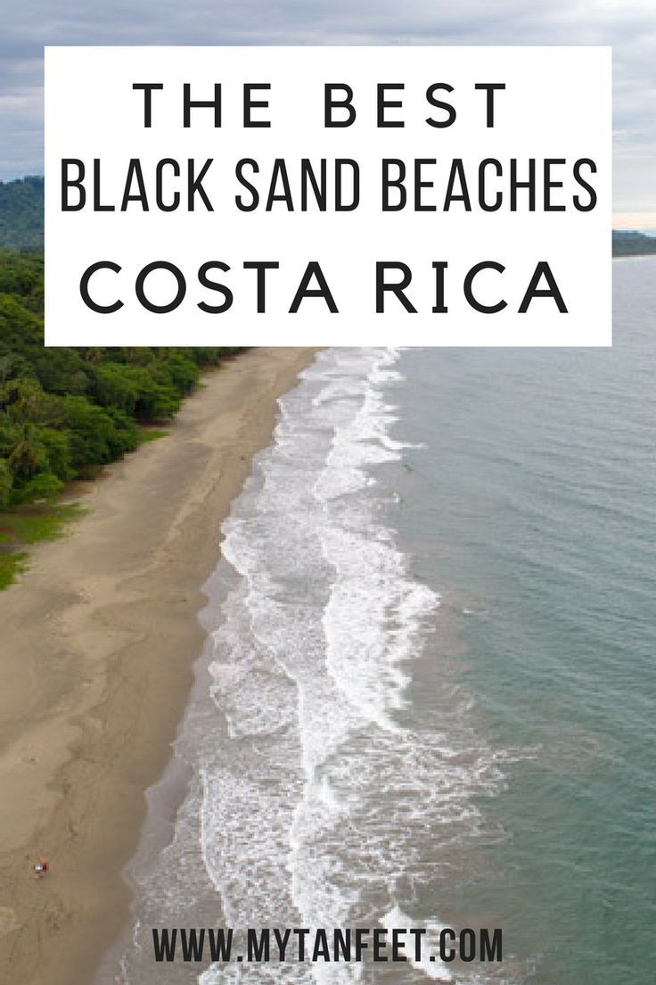 5858 best life 39 s a beach images on pinterest beaches for Black sand beaches costa rica
