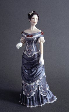 1877-1879 Period Dress
