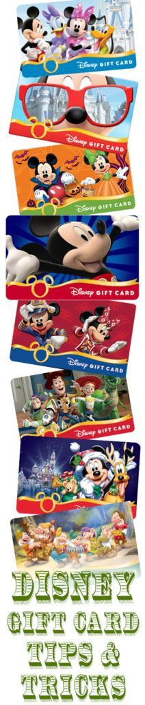 Tips for Buying Discounted Disney Gift Cards