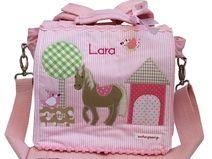 Kindergartenrucksack mit Namen -Mein kleines Pony-