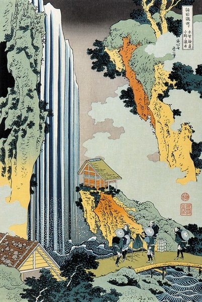 Hokusai -  waterfall
