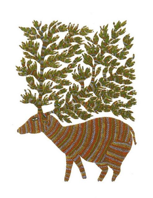 from Signature - Patterns in Gond Art (Tara Books)