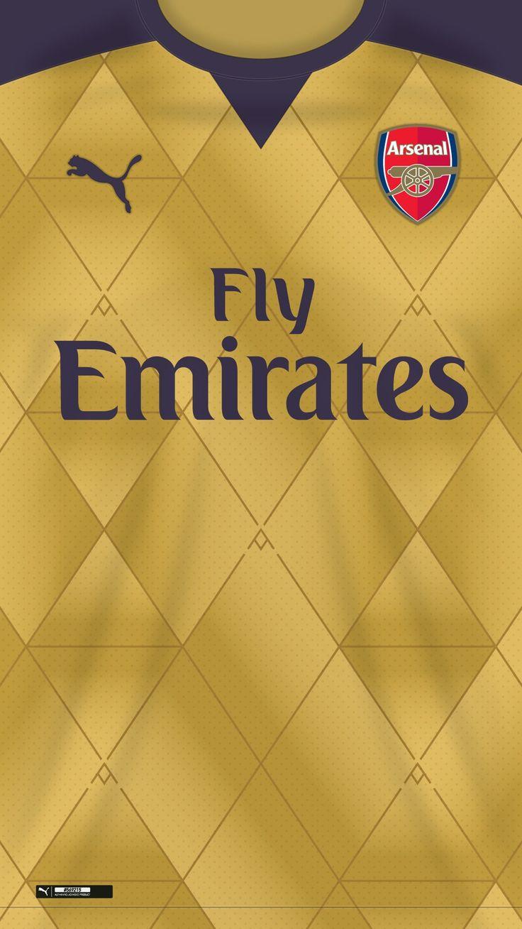 Arsenal wallpaper away kit 2015/2016