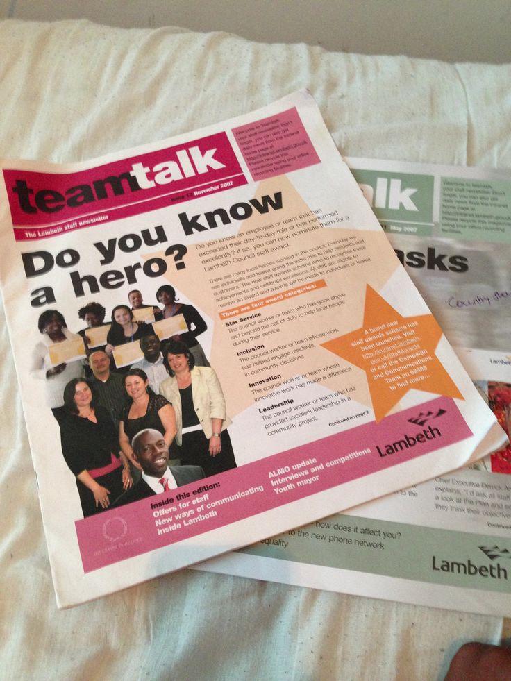 Internalcomms newsletters #localgov #insight2marketing #i2m