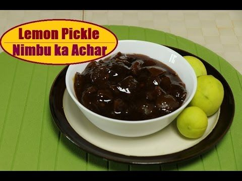 Lemon Pickle Recipe I How to Make Nimbu Achar