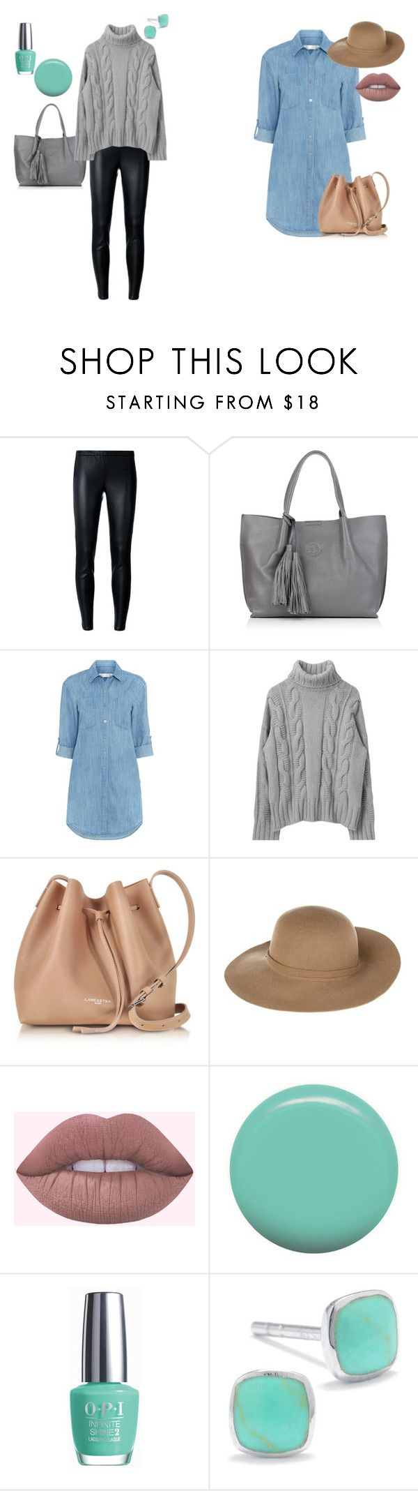"""Para tenis menta"" by zoilashopper on Polyvore featuring moda, MICHAEL Michael Kors, Nadia Minkoff, Seafolly, Lancaster, Armani Jeans, Jin Soon, OPI y Silver Treasures"