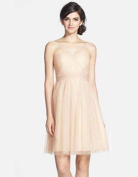 3233a1f59c1 Jenny Yoo Wren Convertible Tulle Fit   Flare Dress Champarne SIZE 2  491   JennyYoo  FitFlareDress
