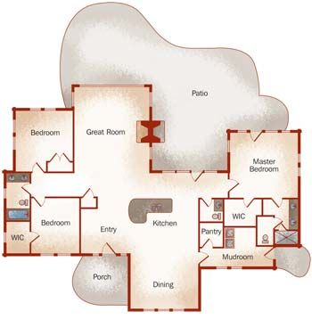 Small Log Homes Design Contest | #3 The Shenandoah by PrecisionCraft Log & Timber Homes - LogHome.com - LogHome.com