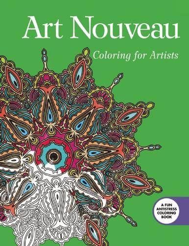 Ideal Publishing A Coloring Book 81 Art Nouveau Coloring for
