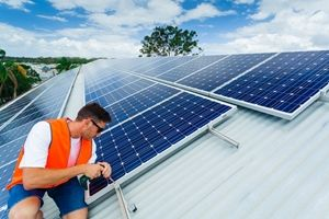Solar power is a solution for aged care.
