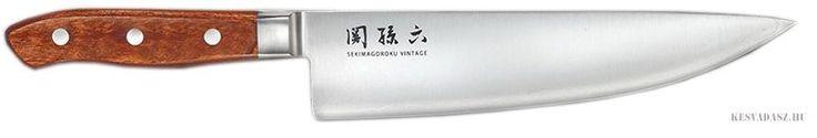 KAI Seki Magoroku Vintage szakácskés - 20 cm