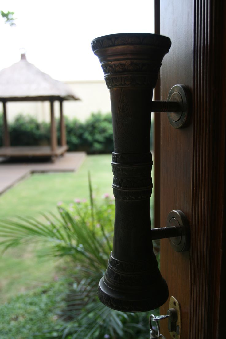 Javanese Door Handle - Special Order