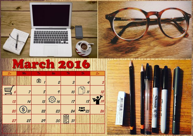 Get your copy of http://photo-calendar-software.com/download.php and make a personalized planner to mark all daily tasks with funny cliparts!  #PersonalPlanner #MonthlyPlanner