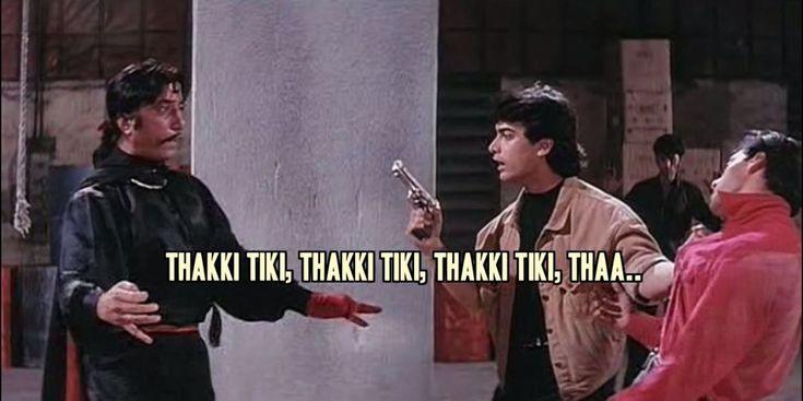 Andaz Apna Apna Dialogues  #Fun #lol