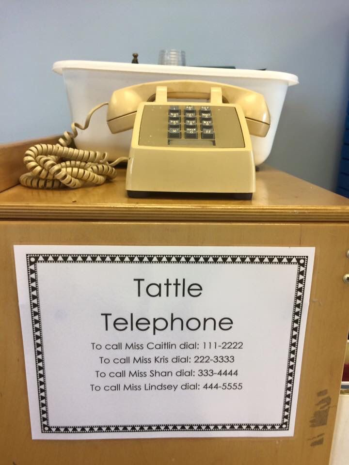 Tattle tale phone! Use it in your own classroom ...