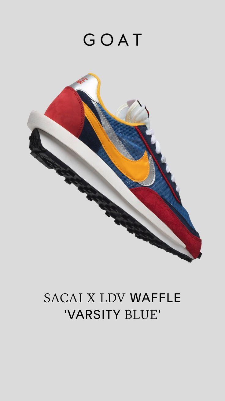 Sacai x LDV Waffle 'Varsity Blue' in