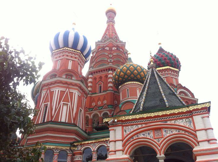 Basílica plaza roja, Russia 2013
