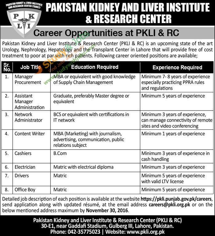 Job Alerts Jobs in pakistan, Research centre, Career