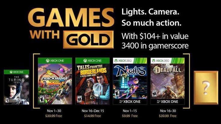 Games with Gold tiene nuevos juegos gratis para Xbox One y Xbox 360 este mes de noviembre 2017 para que siempre tengas algo nuevo para jugar.