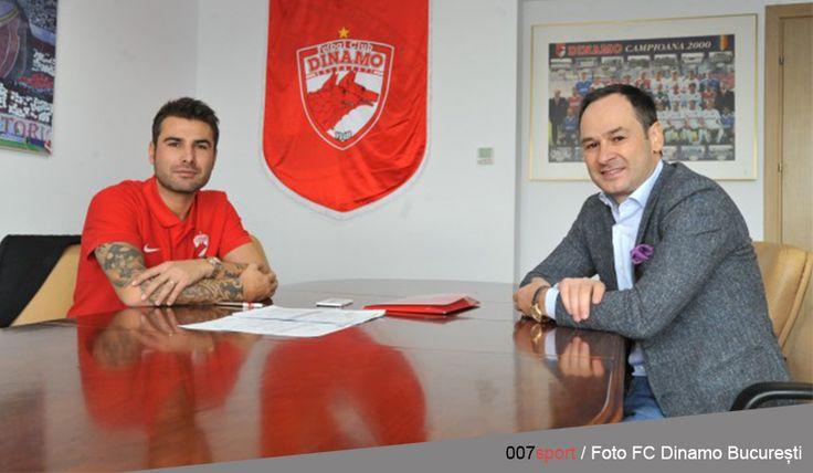 Fotbal | Oficial: ADRIAN MUTU, manager general al FC Dinamo București