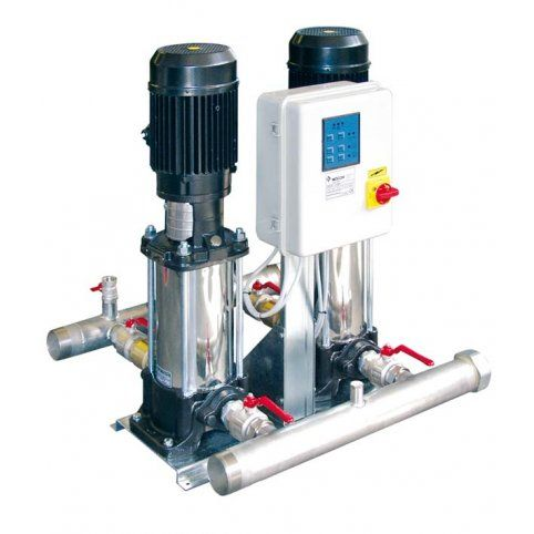 2 x VLR 8/40M Twin booster - Automatic Pressure Booster Units Single Phase from pump.co.uk - W.Robinson & Sons (Ec) Ltd UK