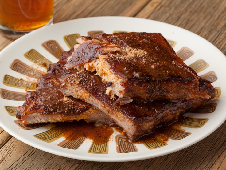 Memphis Dry Rub Ribs from CookingChannelTV.com