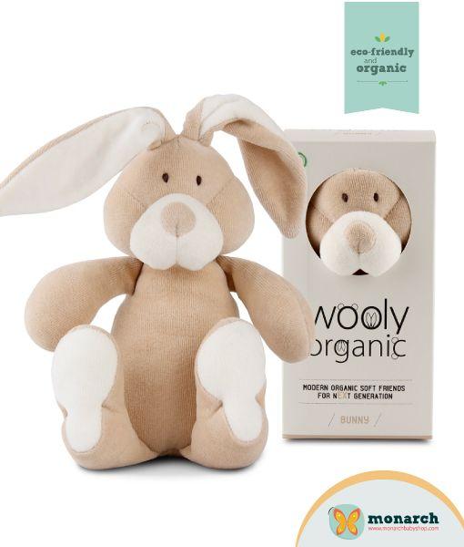 Bunny de Wooly Organic 100% algodón orgánico..!!!! Ideal para los más pequeños...!!!