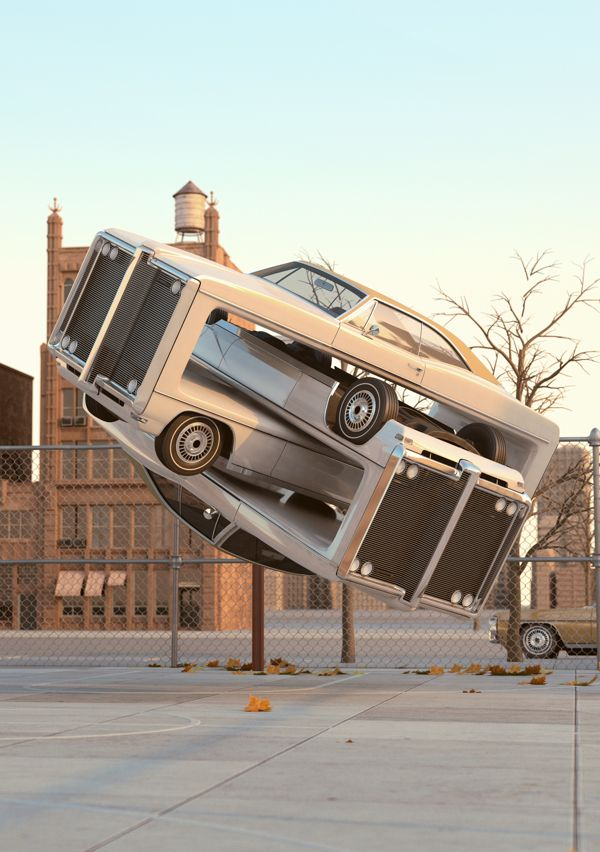 Auto Aerobics by Chris LaBrooy, via Behance