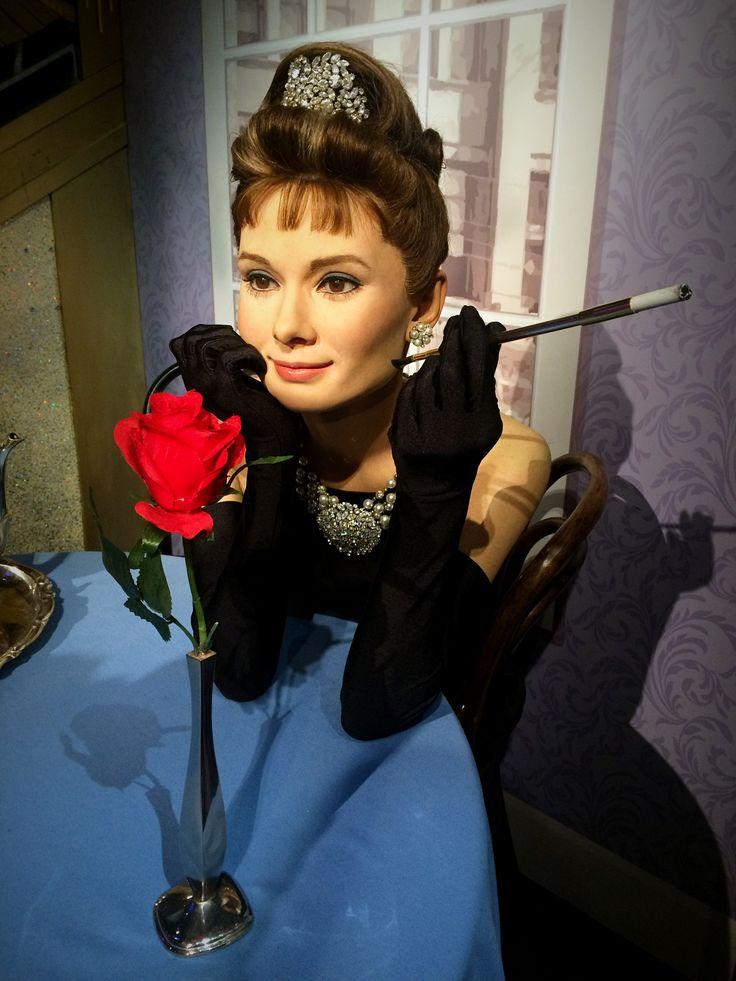 #AudreyHepburn #Hollywood #MadameTussaud #London #Europe