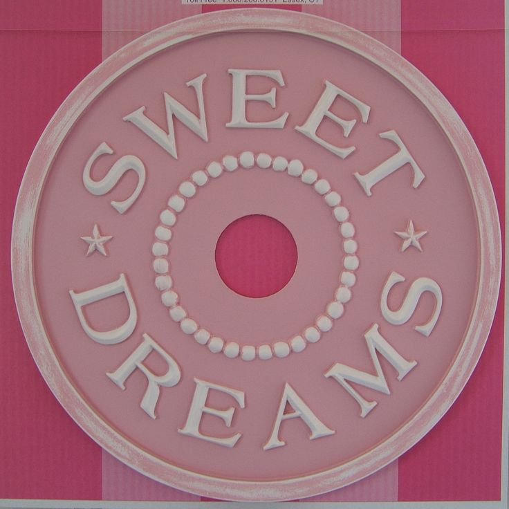 marieRicci etsy - cute idea. Maybe for DD room. Sweet Dreams Ceiling Medallion. $145.00, via Etsy.